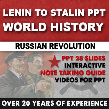 Lenin to Stalin PPT World History
