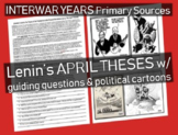 Lenin's April Theses: Russian Revolution primary source doc w/ text-dependent Qs