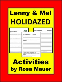Lenny and Mel Holidazed Book Unit