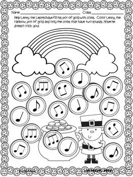 Lenny the Leprechaun (Rhythm Find)