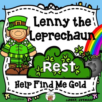 Lenny the Leprechaun (Help Find Me Gold) Interactive Game for Quarter Rest