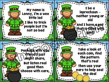 Lenny the Leprechaun (Help Find Me Gold) Interactive Game for So-Mi-La