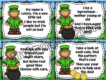 Lenny the Leprechaun (Help Find Me Gold) Interactive Game for Ta/Ti-Ti