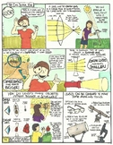 Lenses Comic with Doodle Comic