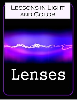Lenses - Science Lesson and Notebooking Pages