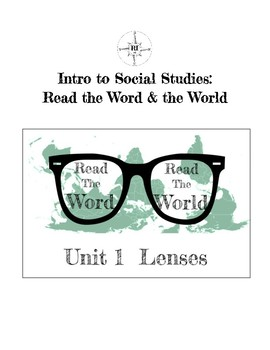 Critical Literacy: Lenses Unit (Intro to Vocabulary of Oppression)