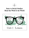 Critical Literacy: Lenses Unit (Intro to Vocabulary of Opp