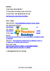 Lenses and mirrors Lesson plan, Information text and Worksheets