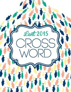 Lent 2015 Activity: Crossword Puzzle