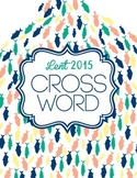 Lent 2015 Activity: Crossword Puzzle