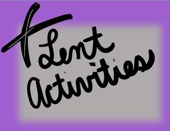 Lent Activities