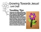 Lent Activity Growing Closer to Jesus Flower
