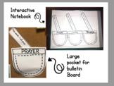 Lent Activity Prayer Pockets Interactive Notebook Bulletin Board