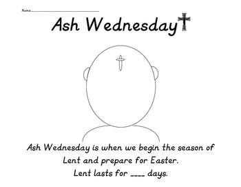 Lent: Ash Wednesday