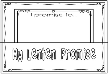 Lent & Ash Wednesday Promise Pockets ~ Bible Theme