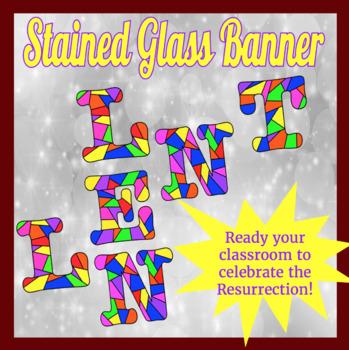 Lent Banner / Sign Coloring