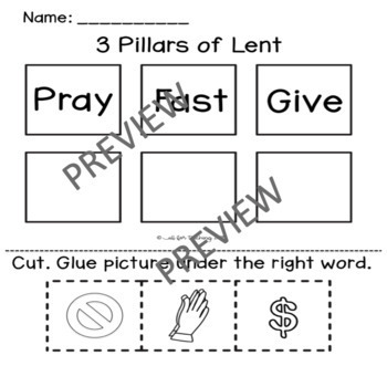 Lent (Beginning)