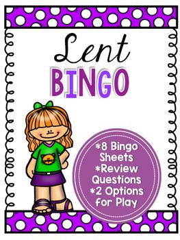 Lent Bingo
