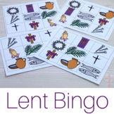 Lent Bingo Game for Catholic Kids