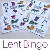 Lent Bingo Game: No Prep Catholic Activities