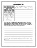 Lent Brainstorming Sheet