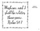 Wash Me and I Shall be Whiter Than Snow. Bible Bulletin Board with Psalm 57:1