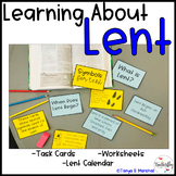 Lent Calendar and Activities