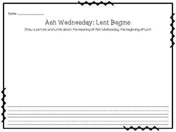 Lent: Draw, Write, Pray!