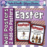 Lent & Easter Poster Add-ons: Pentecost & Ascension