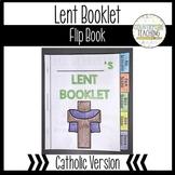 Lent Flipbook - Lent Tab Book - Catholic Version