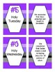 Lent Game: Sort the Lent Events-Ash Wednesday, Holy Thursday, Good Friday...