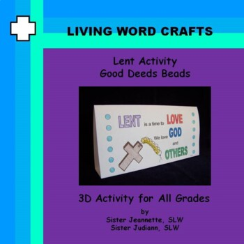 Lent Good Deeds Beads Activity for All grades