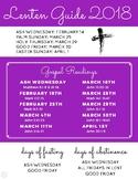Lent Guide 2018