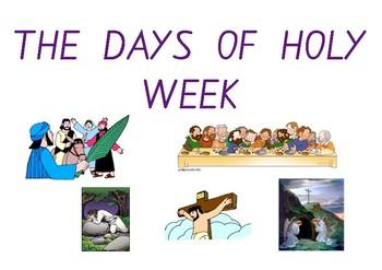 Lent & Holy Week Display Posters