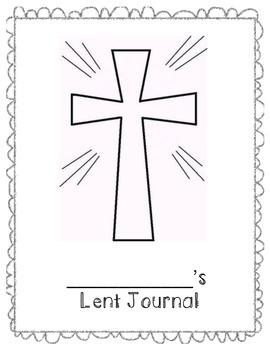 Lent Journal Cover