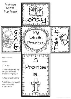 Lent ~ Lenten Promise Cross ~ Easter