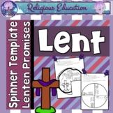 Ash Wednesday & Lent Promise Wheel