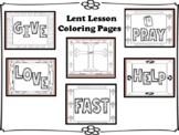 Lent Lesson Coloring Pages