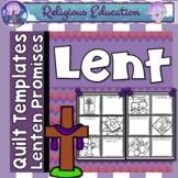 Lent Patchwork Quilt