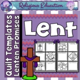 Lent & Ash Wednesday Patchwork Quilt