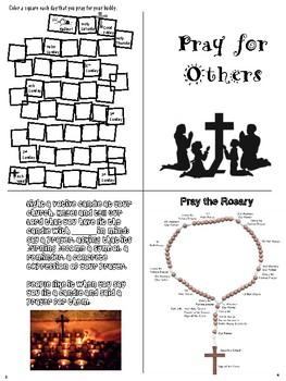 Lent Prayer Buddies