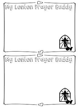 Lent Prayer Pals