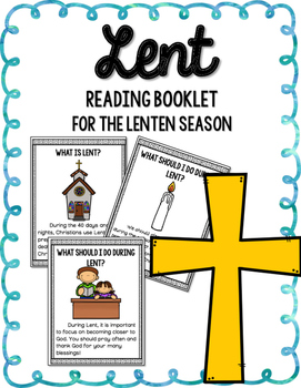Lent Reading Booklet