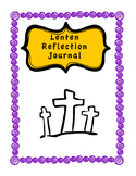 Lent Reflection Journal - Complete Workbook with Bible Readings