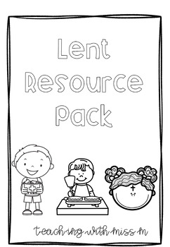 Lent Resource Pack