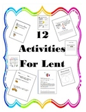 Lent and Easter Activities and Prayers
