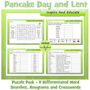 Lent and Easter Activity Pack