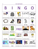 Lent and Easter Bingo