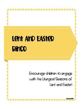 Lent and Easter Bingo - Catholic Edition
