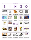 Lent and Easter Bingo - Set of 50